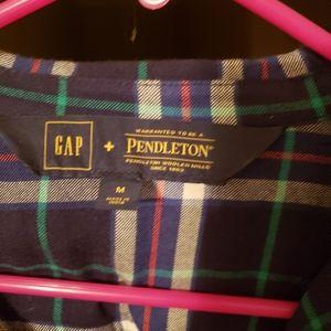 Gap + Pendleton flannel dress